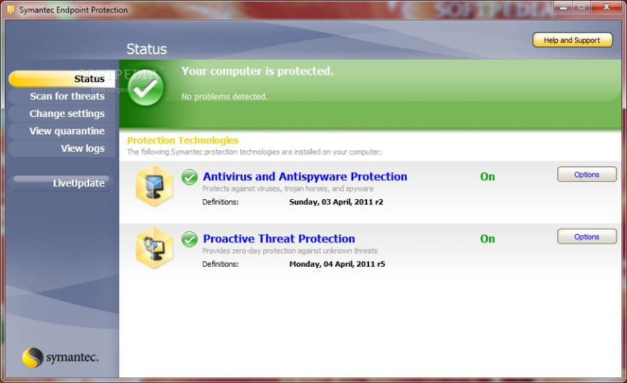 推荐大家使用Symantec Endpoint Protection 11.0.4000_MR4简体中文正式版